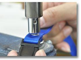 ネームワンは完全自社生産の日本製。一つ一つ丁寧にお作り致します。